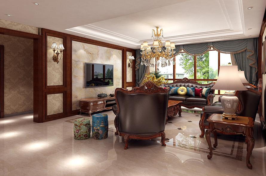 滦县金瑞国际美式古典风格